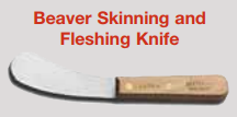 picture of fleshing knife