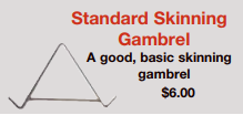 picture of skinning gambrel