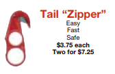 picture of tail zipper