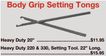 picture of body grip setting tongs