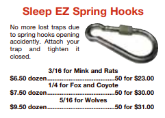 picture of sleep EZ spring hooks