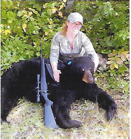 Nice bear taken by Sierra Steinberg. She used Bodies Bear Guice Service in northern Minnesota.